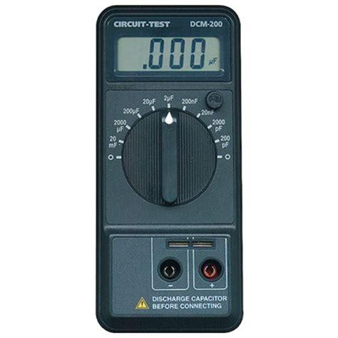 capacitance meter specifications dcm 200 capacitance meter