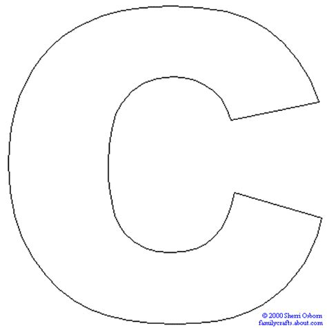 coloring pages of letter c letter coloring pages
