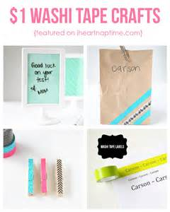 Washi Tape Craft Ideas cute and easy 1 washi tape crafts i heart nap time