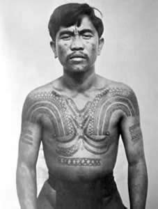 igorot tribal tattoos bontoc igorot ca 1900 the tattoos on his chest arms