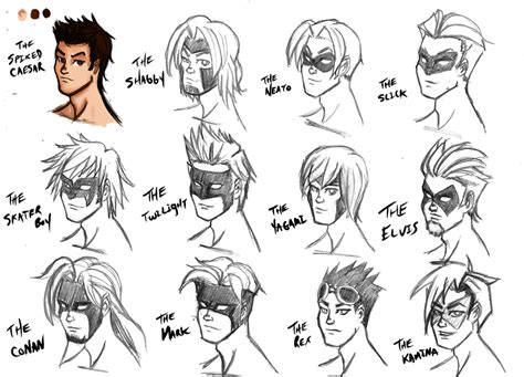 best superhero hairstyles lightning hairstyles and masks by kaioutei on deviantart