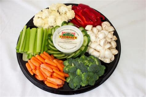 7 Treats For Guests by Veggie Platter Snacks For Guests