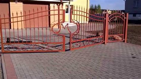 came swing gate operator swing gate came krono youtube