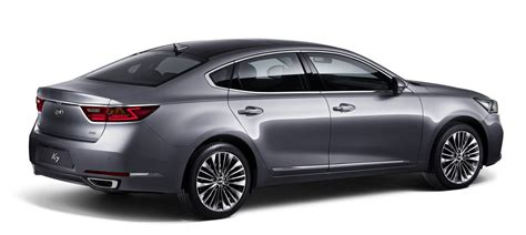 Kia Luxury 2016 Kia Cadenza Revealed New Overseas Only Large Luxury