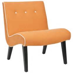 accent chair orange shop safavieh mercer orange accent chair at lowes