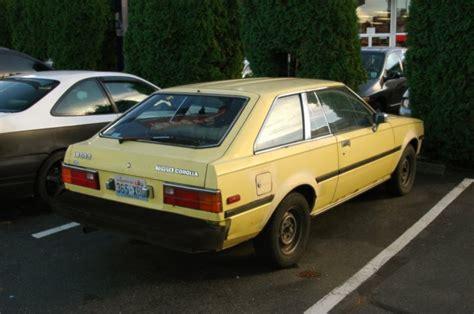 1982 Toyota Corolla Hatchback 1980 Toyota Corolla 4 Door Car Interior Design