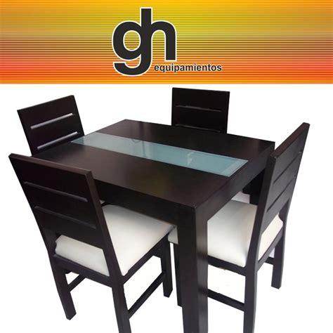 imagenes sillas minimalistas mesa de comedor con caminero de vidrio 4 sillas 20