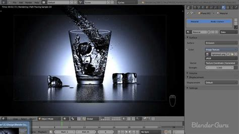 blender tutorial ice create a realistic water simulation in blender youtube