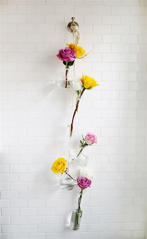Hanging Vases Diy by Hanging Vase Display A Beautiful Mess