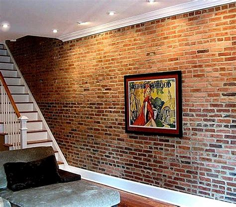25 best ideas about brick veneer wall on