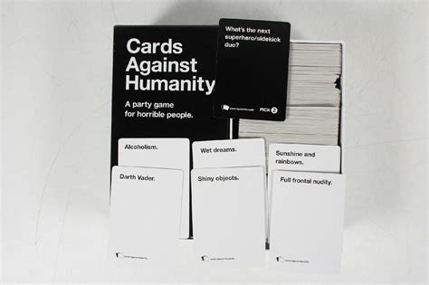 cards against humanity openoffice template cards against humanity base pack for horrible