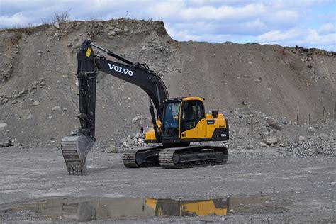 volvo excavator tyner construction