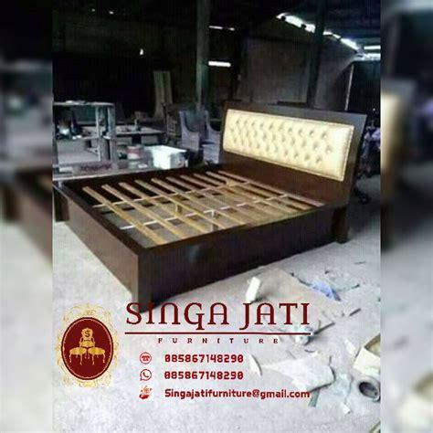 Tempat Tidur Kayu Biasa Minimalis tempat tidur minimalis kayu jati tpk perhutani murah