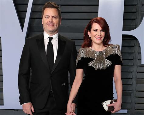 nick offerman the bachelor nick offerman and megan mullally s 15 year marriage what