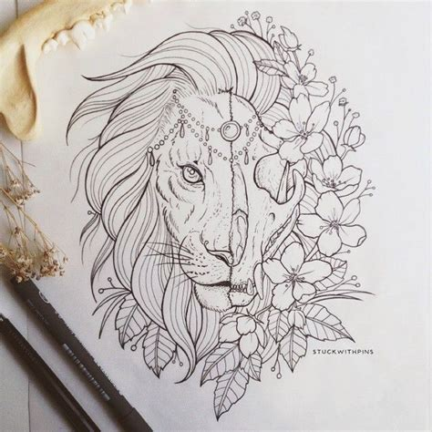 lion tattoo drawing 25 best ideas about design on