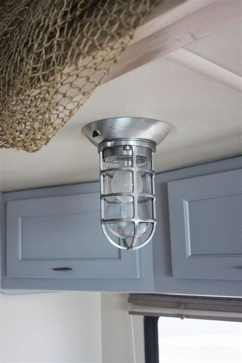 Rv Interior Lighting Fixtures A Rv Interior For The Bum In All Of Us