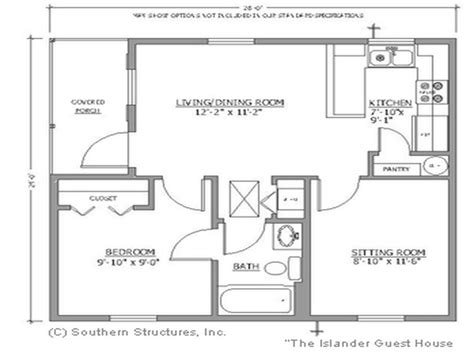 guest house plans free floor plans for small houses the bath small house