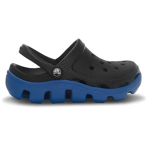 Duet Sport By Crocs crocs duet sport clog black sea blue slip on shoes with durable road sole crocs from