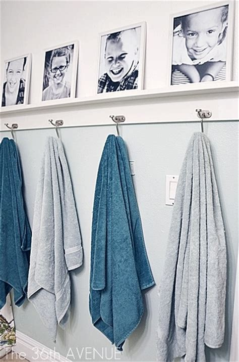 Bathroom Towel Hanging Ideas Fun Amp Functional Bathroom Organization Ideas Blissfully