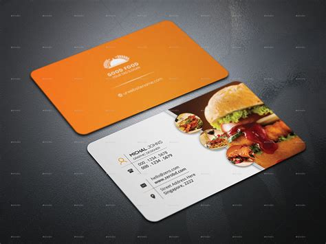 Best Restaurant Gift Card - best restaurant business cards restaurant business cards designs creativetemplate
