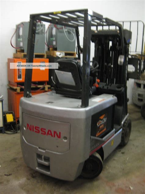 nissan 60 6 000 lbs model chassis only electric