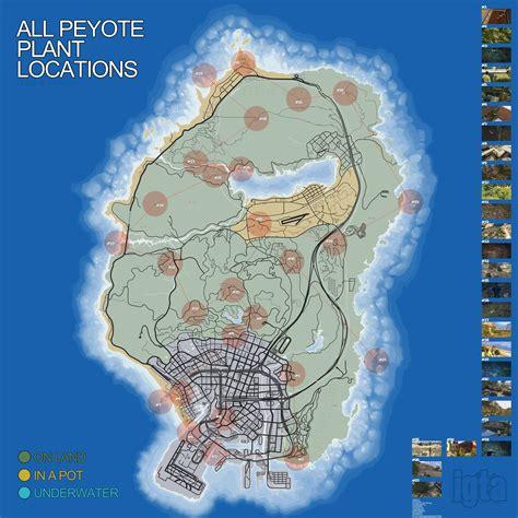 Tokyo Vs Grey Mt 1 Where To Find All Of Gta V S Secret Peyote Plants Kotaku
