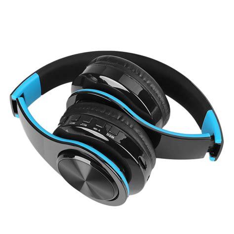 stereo mp3 bluetooth headset wireless foldable ear
