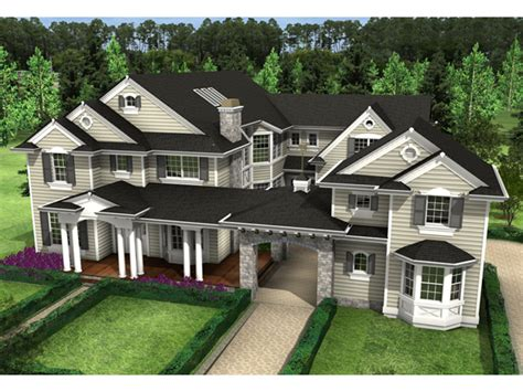 home plans with porte cochere rochester mill luxury home plan 071s 0027 house plans