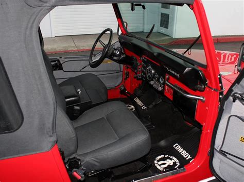 cj jeep interior 1980 jeep cj 7 custom suv 96642