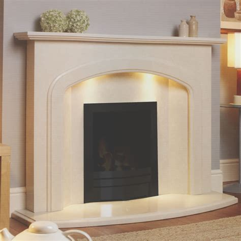 marble fireplace surround with attractive design
