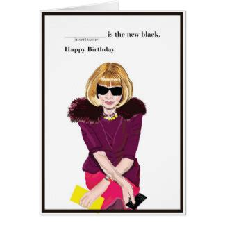 Happy Birthday Vogue by Vogue Cards Vogue Card Templates Postage Invitations