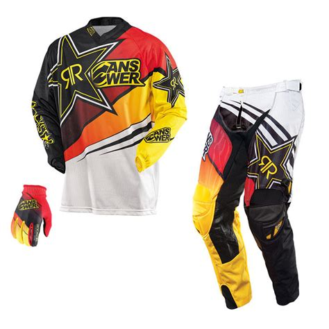 youth rockstar motocross gear answer 2014 rockstar vented jersey pant gear combo