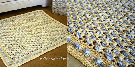 crochet bathroom rug crochet bathroom rug pattern ehsani rugs