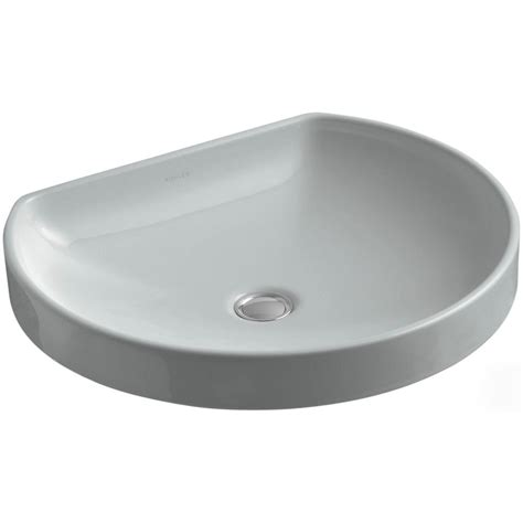 kohler wading pool sink kohler watercove wading pool vitreous china vessel sink in