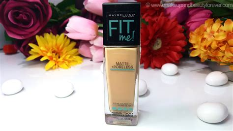 l shades on line maybelline fit me matte poreless foundation review