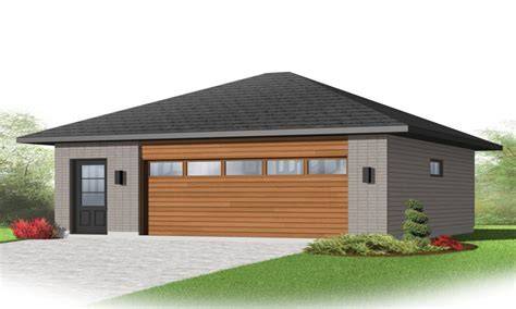 detached 3 car garage 2 car detached garage plans
