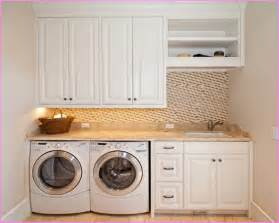 Laundry room countertop home design ideas