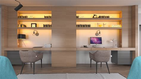 home office desk for two 36 inspirational home office workspaces that feature 2