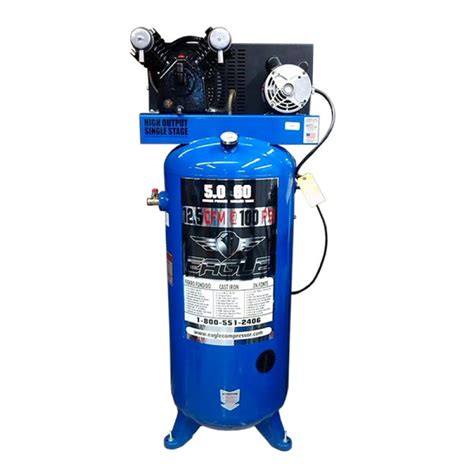 Eagle Air Compressor by Eagle Air Compressor 12 5 Cfm 60 Gallon