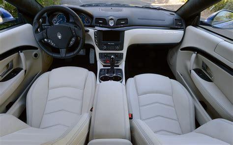 maserati granturismo coupe interior 2013 maserati granturismo sport interior photo 3