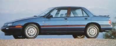 Pontiac Corsica Curbside Classic 1993 Chevrolet Corsica And 1993