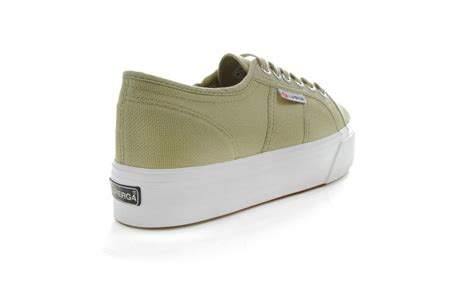 superga womens 2790 linea up lace up canvas rubber