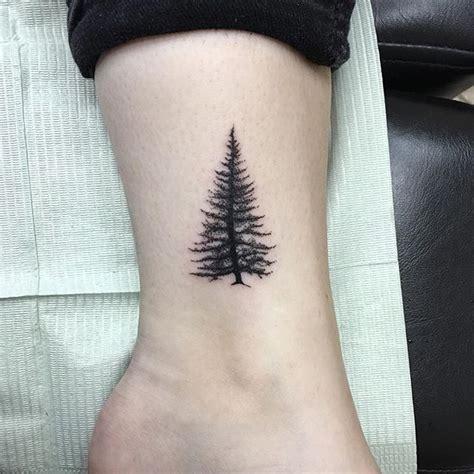 small pine tree tattoo 1000 ideas about small tree tattoos on tree