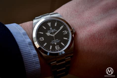 Introducing the 2016 Rolex Explorer 214270, with new hands and new indexes (Live Photos & Price