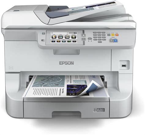 Printer Laser Epson A3 epson workforce wf 8510dwf a3 colour laser multifunction wireless printer