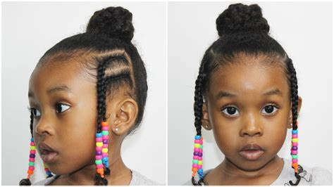 how to make fulani hairstyle fulani bun with braids hairstyles tutorial youtube