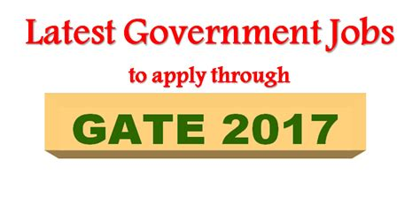 Mba Through Gate 2017 by Government To Apply Through Gate 2017