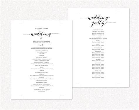 wedding reception program format wedding ideas 2018