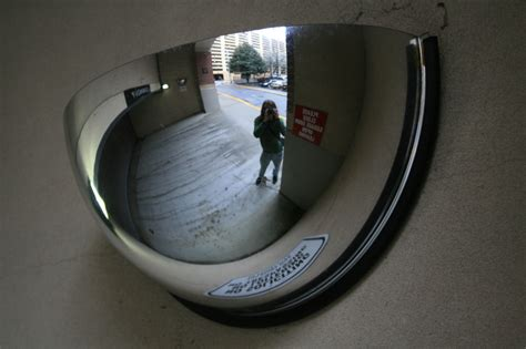 Garage Mirrors by File 2008 03 14 Convex Mirror In Atlanta Garage Entrance
