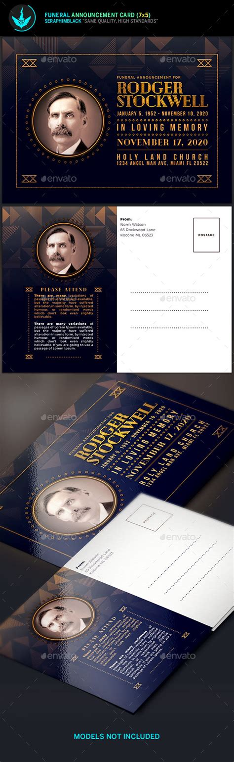 http graphicriver net item funeral service business card template 10998645 deco funeral announcement card template by